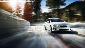 2013 Subaru Impreza 2.0i 4-door 5-speed manual