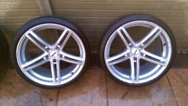 Bmw wheels and tyres 19'