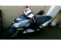 Jonway Madness automatic 49cc scooter 49cc new MOT low mileage