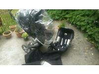 Britax Vigour 3+ Pram with car sit and extras £65 ONO!