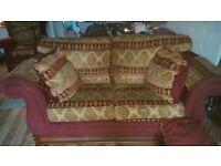leeks 2 seater sofa and armchair