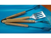 Barbeque tool set (3 pieces)