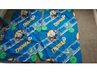Kids Thomas the tank engine curtains - £1