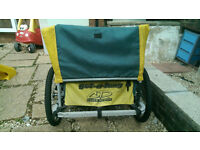 kids bike trailer, double CAN DELIVER