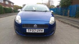 FIAT PUNTO 1.2 5DOORS LONG MOT BLUE