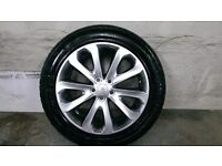 ALLOYS X 4 OF 20 INCH GENUINE RANGEROVER VOGUE/FULLY POWDERCOATED IN A STUNNING SHADOW/CHROME NICE
