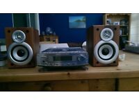 Goodmans 1109 Micro System Stereo and Speakers