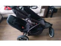 Phill &Teds single/double buggy