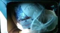 Authentic Tom Brady Signed full size Throwback Helmet