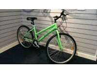 Brand New Mountain Bike Ladies silver Red Green