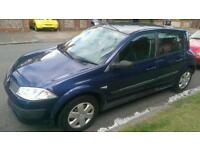 Renault Megane, 1.4, new mot, new tyresOffers accepted