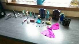 Disney frozen mini wardrobe set Elsa & Anna