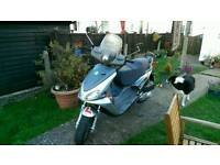 Benelli velvet 125cc moped 12 months mot