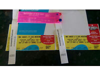 2 x Radio 1 Big weekend tickets for Saturday including travel from Beverley.
