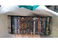 job lot dvds 30 in total £17