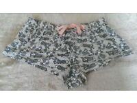 Womens Shorts Pyjamas Nightwear Thumper rabbit Print