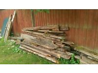 Free timber to burn