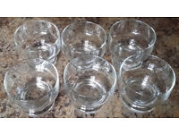 Set of 6 dessert glasses