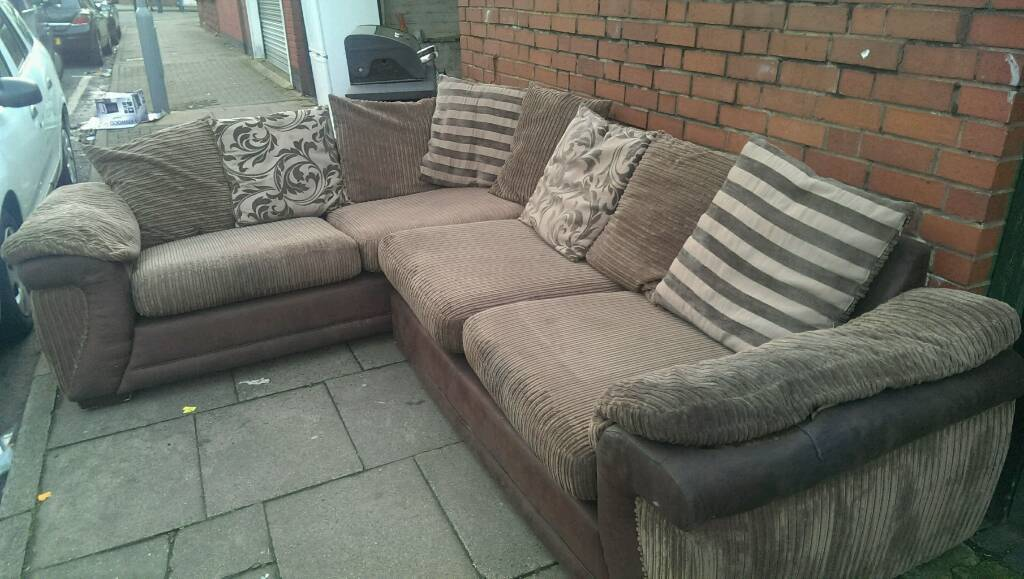 Corner sofa sofa bed free delivery in birmingham city for Sofa bed free delivery