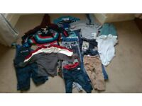 Large Bundle of Good Quality Baby Clothes - 6 to 9 months