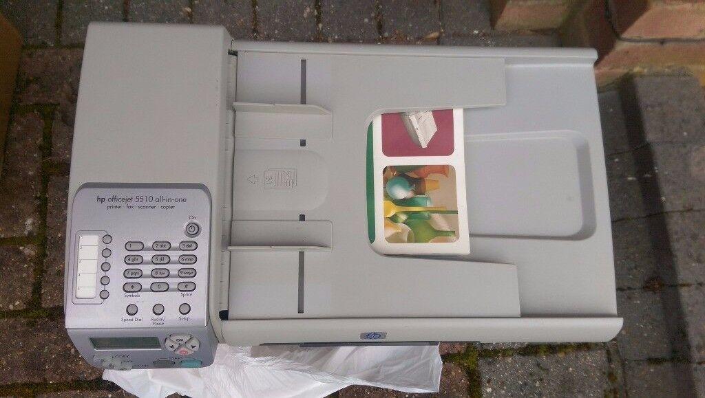 Printer HP Officejet 5510 All in one Printer Fax Scanner Copier/