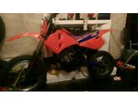 Lem 50 cc kids motocross bike big wheel same engine Wot in ktm and husky