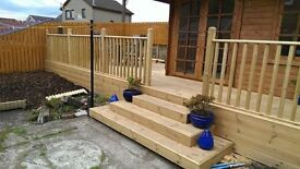 QUALITY FENCING, DECKING, WOODEN GATES AND SHEDS ...........
