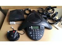Polycom Soundstation 2W Wireless Conference Phone Telephone. Free UK delivery.