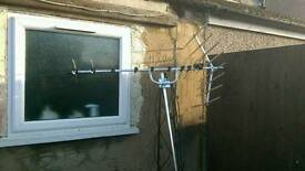 Selling tv aerial with pole