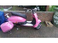 Direct bike pink 125cc Not! Gilera, Vespa, aprilia, yamaha, honda