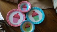 8peice cupcake dishes