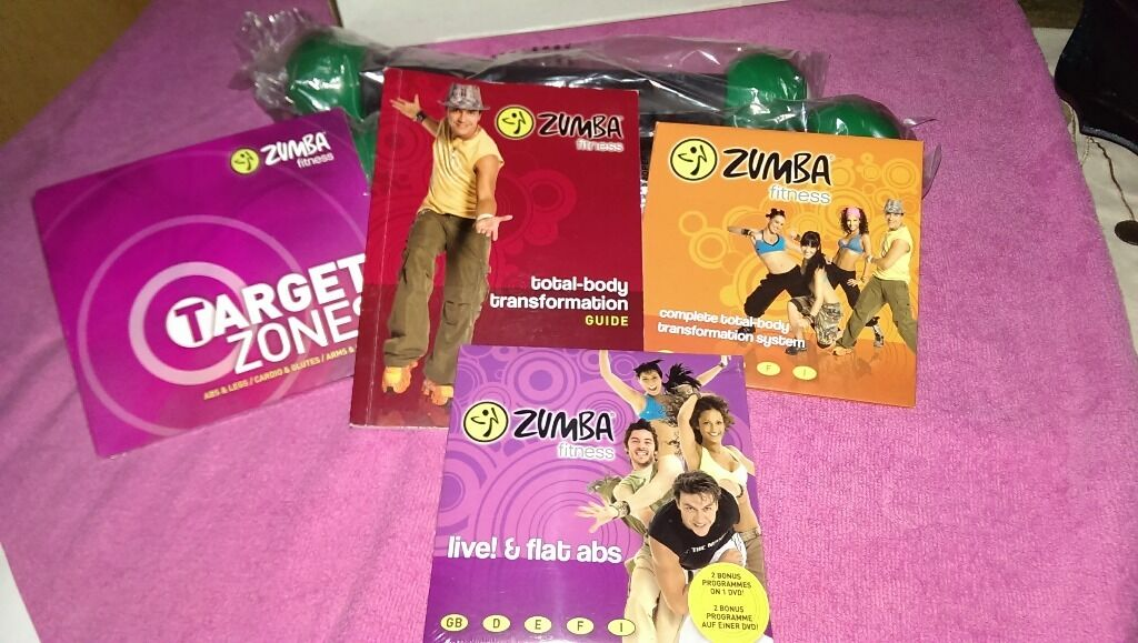 Zumba Fitness Zumba Ultimate Fitness Dvd Set