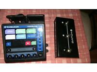 Tc helicon voice live touch with foot pedal