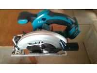 Makita 18v circular saw DSS611 body only. Perfect working order
