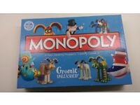 Monopoly Bristol Wallace and Gromit edition!