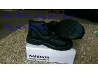 Warrior safety boots