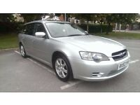 2003/53 Subaru Legacy Sport Tourer, silver, service history, non-turbo, new MOT, vgc for age