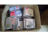 Over 230 CD albums - pop, rock, classical, etc