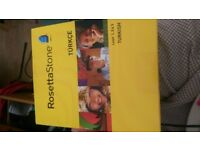 Rosetta Stone Turkish 1,2,3