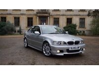BMW 330Ci Sport Silver with Red Interior