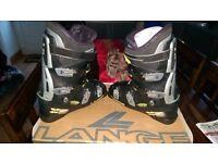 Lange XZero7 Ski Boots UK Size 10