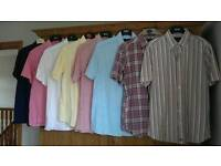 Bundle of short sleeve shirts