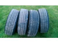 **************** 185/65 r15 vauxhall astra 4x100 wheels with tyres *********************************