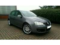 2007/07 VOLKSWAGEN GOLF GT TDI 140 *2 OWNERS FULL S/HISTORY CAMBELTED IMMACULATE* vw