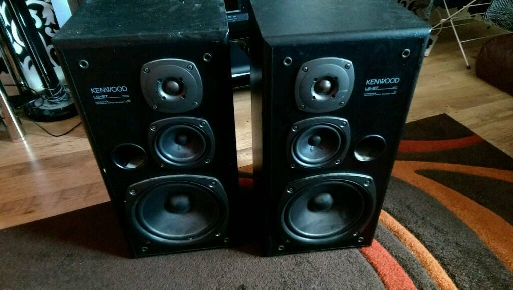 Kenwood SL-97 Vintage Speakers
