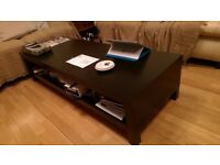 Black Ikea coffee table, good condition