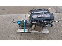 BMW E46 325i ENGINE complete with manual gearbox 99000 miles! M54B25 M SPORT