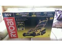 Ryobi 36V Li-Ion battery cordless lawn mower brand new in box RLM36X40H50