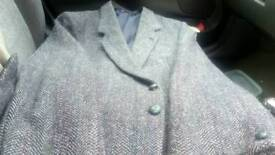 Heavy harris Tweed jacket by Dunn & Co size 42