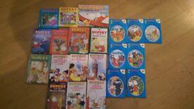 Rupert Bear books and annuals